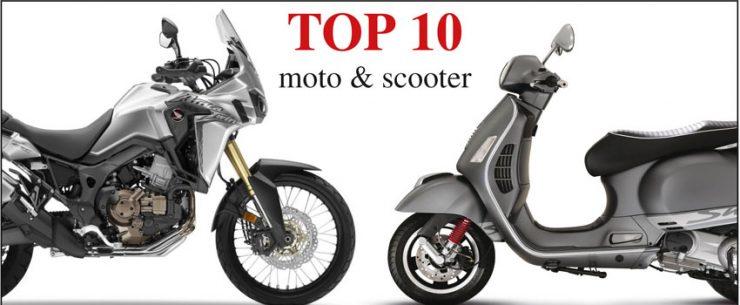 MERCATO Apertura TOP 10 moto
