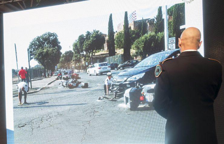 Incidenti Polizia Roma Capitale apre