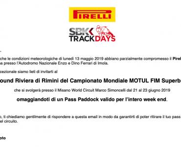 pirelli day a imola