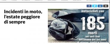 strage di motociclisti