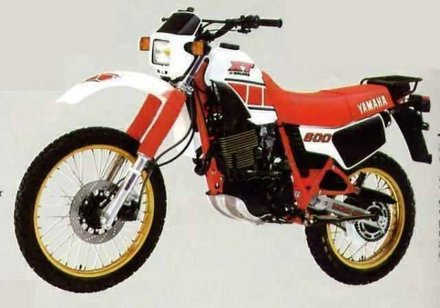 Enduro anni ottanta