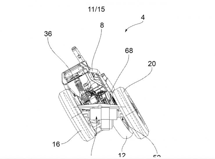 brevetto piaggio