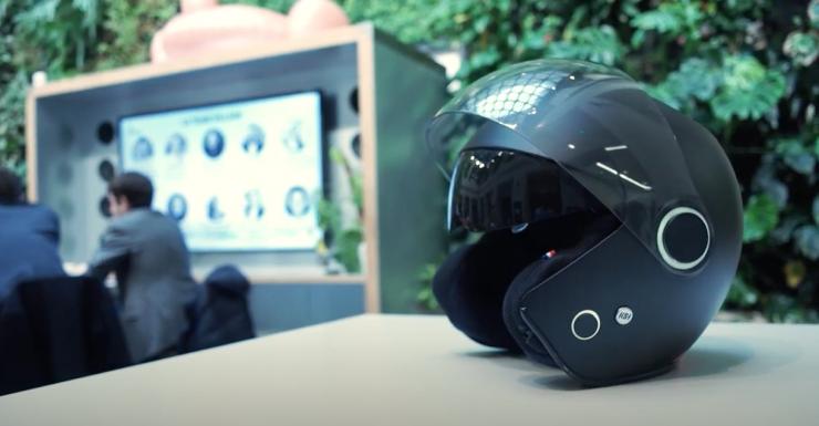 kosmos smart helmet