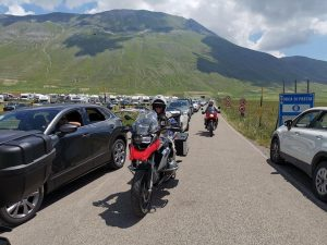 Un borgo da favola in moto