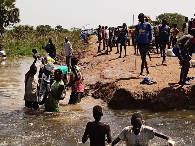 Sud Sudan inondazioni