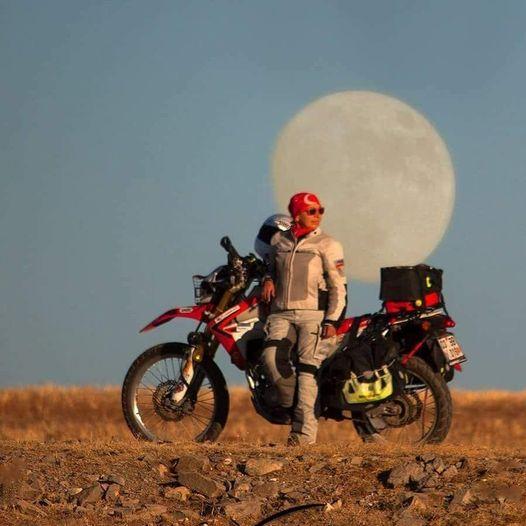 Şule non è una motociclista come tutte le altre